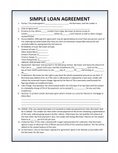 personal loan agreement pdf free loan agreement forms pdf template form download throughout free personal loan agreement