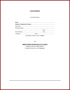 personal loan agreement pdf simple loan agreement template loan agreement template free pdf