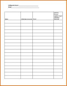 personal loan contract template attendance sheet pdf