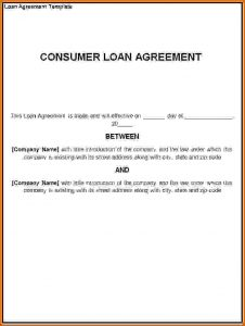 personal loan contract template personal loan agreement template loan agreement template
