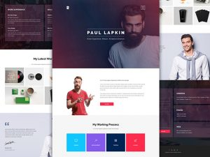 personal website template personal website template psd