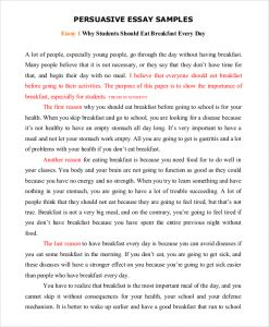 persuasive speech example persuasive speech essay example