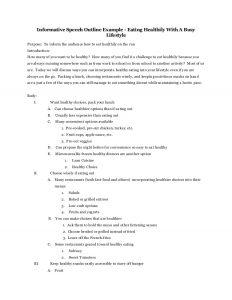 persuasive speech outlines speech outline