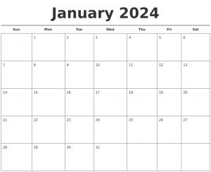 photo calendar template january free calendar template