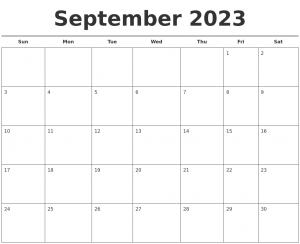 photo calendar template september free calendar template