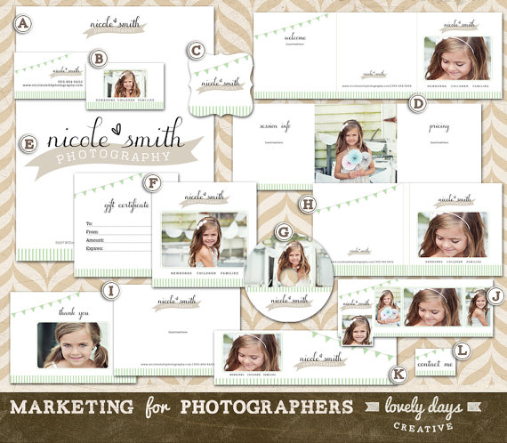 photography marketing templates