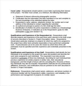 photography proposal template cover letter photography proposal template