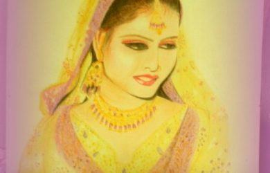 photos to pencil sketches bridal sketch in soft pencil and color pencil