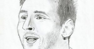 photos to pencil sketches lionel messi