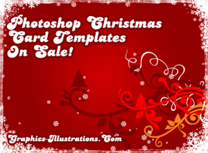 photoshop christmas card templates bsilviaxmascardsalecover