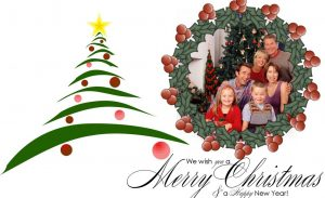 photoshop christmas card templates christmas card photoshop template psd