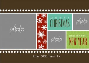 photoshop christmas card templates photoshop christmas card templates