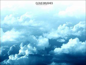 photoshop cloud brushes cloud brushes
