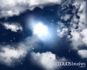 photoshop cloud brushes clouds brushes by rubina