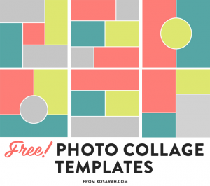 photoshop collage template photo templates