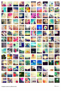 photoshop collage templates instagram poster