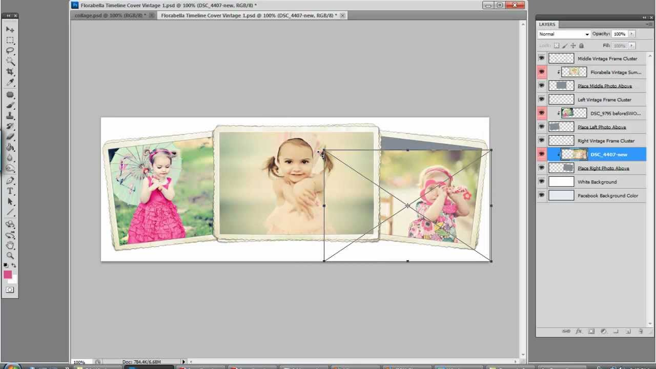 Photoshop Collage Templates Template Business