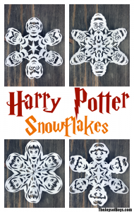 picture collage template harry potter snowflakes collage final