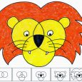 picture collage template lion diagram copy x