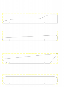 pinewood derby car template