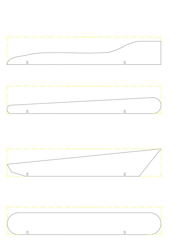 Pinewood derby car template template business for Pine wood derby car templates