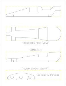 pinewood derby car template pinewood derby free templates