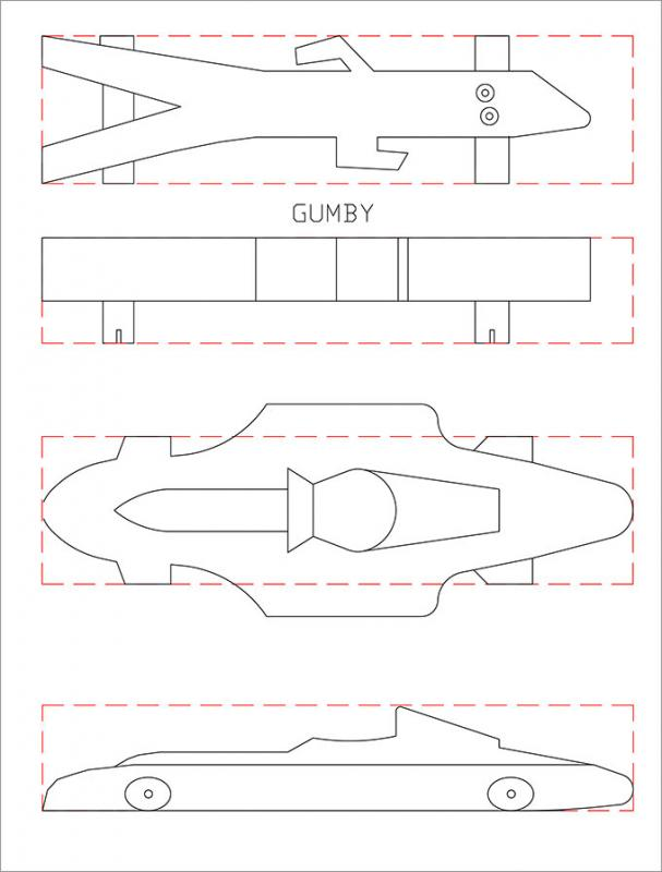 pinewood derby template