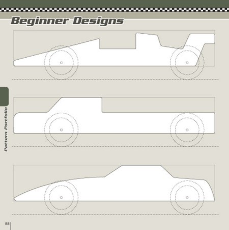 Pinewood Derby Template  Template Business