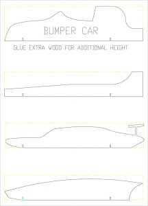 pinewood derby templates pinewood derby bumper plan template