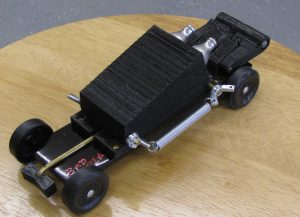 pinewood derby truck plans finished