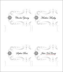 place card template download place cards template