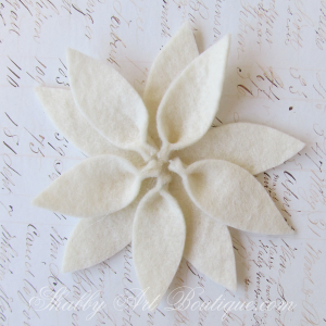 place card templates shabby art boutique felt poinsettia
