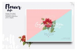 place card templates wedding congratulation card