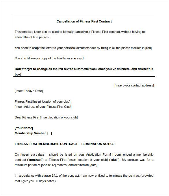 planet fitness cancellation form pdf