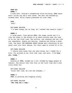 play script template script