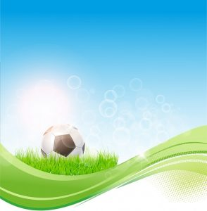 playing card templates soccer flow background
