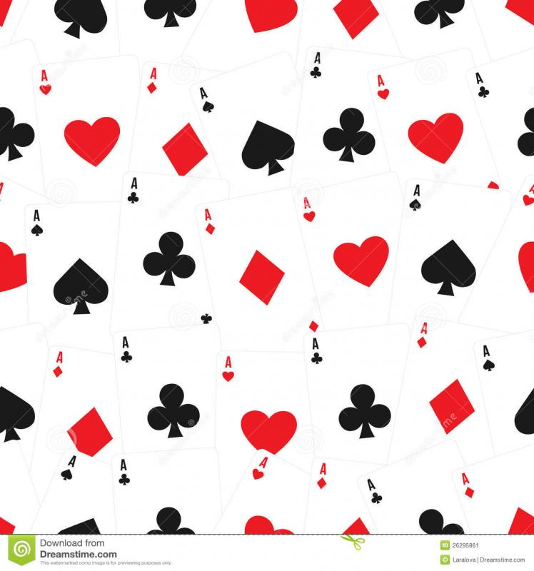 playing cards template