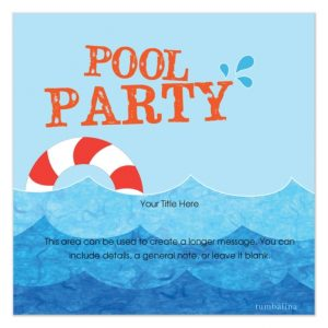 pool party invite template free pool party invitation template is the fusion of concept and creativity on interesting party invitations