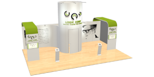 pop up banner design exhibition stand design