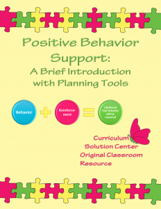 positive behavior support plan positive behavior support a brief introduction and planning tools incentive plan included