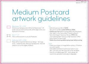 postcard template pdf medium postcard landscape us template