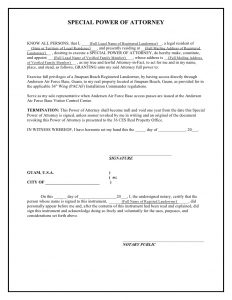 power of attorney example jinapsan power of attorney template