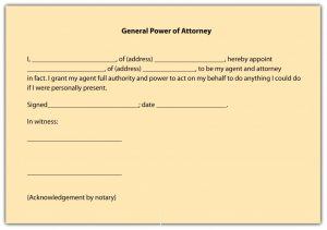 power of attorney form free printable power of attorney form free printable