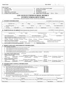 power of attorney sample letter student enrollment form california d