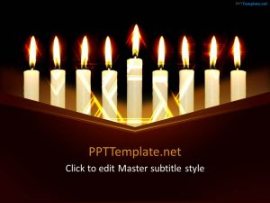 ppt template download hanukkah ppt template