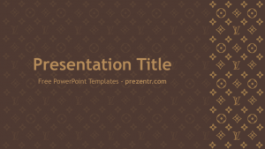 ppt template download louis vuitton powerpoint template preview x