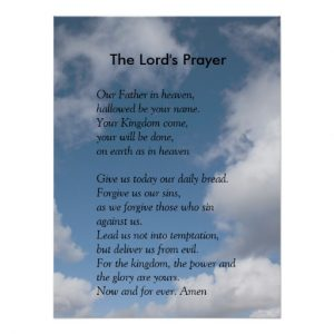 prayer cards template scripture template the lords prayer poster reaabdecfbdfeeae xuc byvr