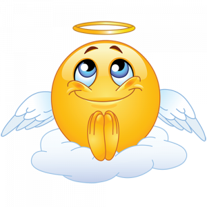 praying emoji copy and paste angel emoticon