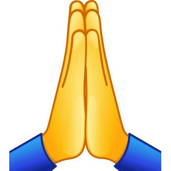 praying emoji copy and paste