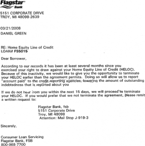 pre approval letter sample heloc closing